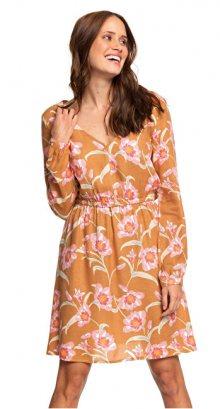 Roxy Dámské šaty Heatin Up Chipmunk Surfin Love ERJWD03357-CMW6 XS