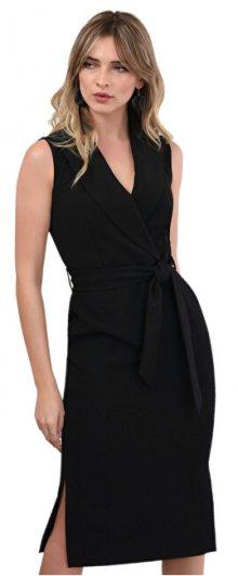 Closet London Dámské šaty Closet Collared Pencil Dress Black XL