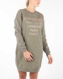 Šaty SuperDry | Hnědá | Dámské | S