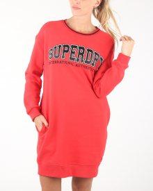 Šaty SuperDry | Červená | Dámské | S