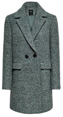 ONLY Dámský kabát ONLALLY BOUCLE WOOL COAT CC OTW Balsam Green XS