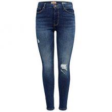 ONLY Dámské džíny ONLPAOLA HW SK DES JNS BB AZ139941 NOOS Medium Blue Denim XS/30