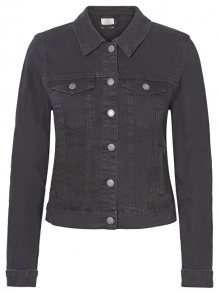 Vero Moda Dámská bunda Hot Soya Ls Denim Jacket Mix Noos Black S