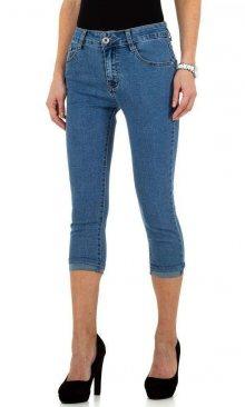 Dámské 3/4 jeansové kalhoty