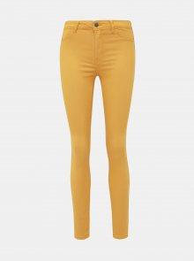 Žluté skinny fit džíny Jacqueline de Yong Lara