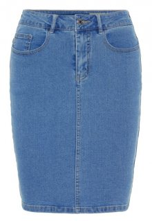Vero Moda Dámská sukně VMHOT NINE HW DNM PENCIL SKIRT NOOS CI Light Blue Denim XS
