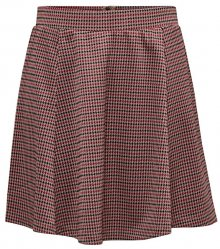 Jacqueline de Yong Dámská sukně JDYHALEY SKIRT JRS Natural Checks XS