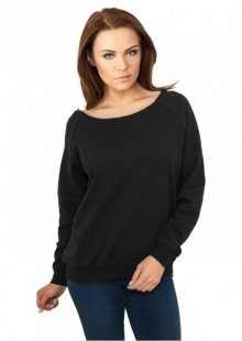 Urban Classics Ladies Open Edge Crewneck black - XS