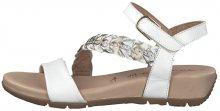Tamaris SLEVA - Dámské sandále 1-1-28232-22-197 White Comb