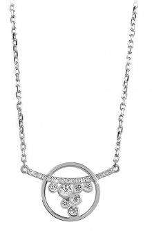 Silver Cat Stříbrný náhrdelník s čirými zirkony SC316
