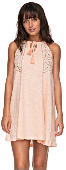 Roxy Dámské šaty Enchanted Island Tropical Peach ERJKD03164-MDR0 XL