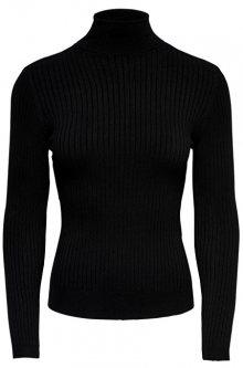 ONLY Dámský svetr ONLKAROL L/S ROLLNECK PULLOVER KNT NOOS Black L