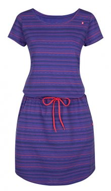 LOAP Dámské šaty Alecia Rl Blue CLW1834-M33X S