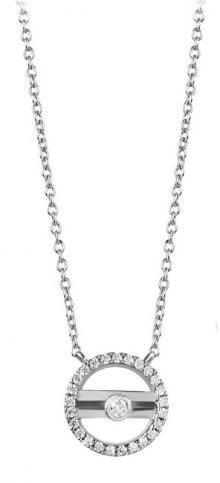 Silver Cat Moderní stříbrný náhrdelník se zirkony SC331