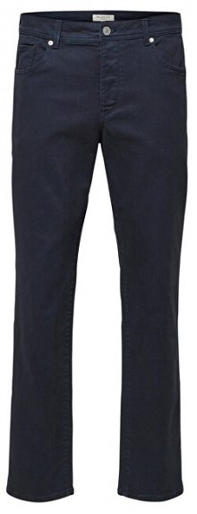 SELECTED HOMME Pánské kalhoty SLHSLIM-LEON PANTS W Dark Sapphire - Pants B 16 30/32