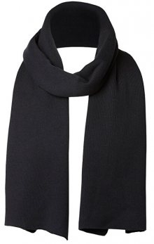 SELECTED HOMME Pánská šála SLHLETH COTTON SCARF W Black
