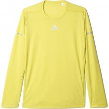 adidas Run Ls Tee M žlutá L