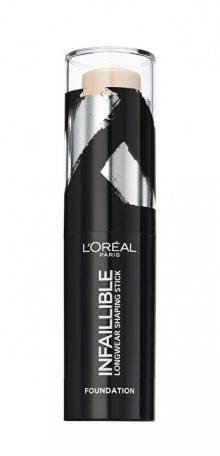 L´Oréal Paris Tuhý make-up v tyčince Infaillible Shaping Stick 9 g 140 Natural Rose