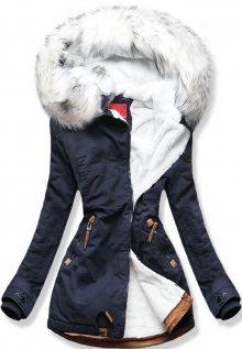 MODOVO Dámska zimní bunda A923 tmavě modrá - L