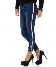 Dámské módní jeansy