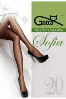 Gatta elastil sophia plus grafitové Punčochové kalhoty 5 grafitová (tmavě šedá)