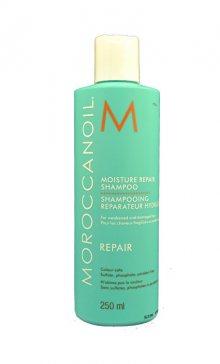Moroccanoil Regenerační šampon s obsahem arganového oleje na slabé a poškozené vlasy (Moisture Repair Shampoo) 70 ml