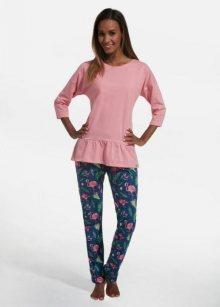 Cornette 183/200 Flamningo 2 Dámské pyžamo XL růžová
