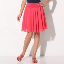 Blancheporte Jednobarevná rozšířená sukně malinová 44