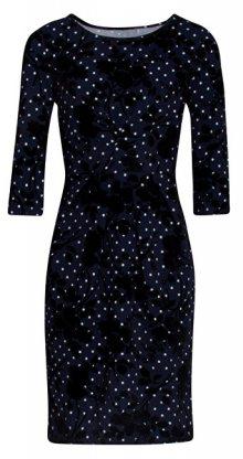 Smashed Lemon Dámské šaty 19565 Navy/Black S