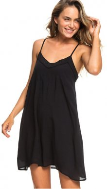 Roxy Dámské šaty Off We Go Dress True Black ERJWD03294-KVJ0 M