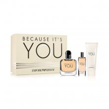 Armani Emporio Armani Because It's You - EDP 100 ml + EDP 15 ml + tělové mléko 75 ml
