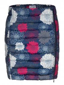 LOAP Dámská sukně Iralca Dress Blue Allover CLW19129-L13YL L
