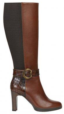 GEOX Dámské boty D Annya High Brown D94AED-0436Y-C0013 36
