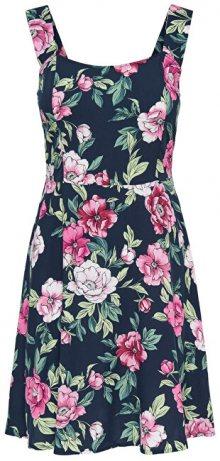 Jacqueline de Yong Dámské šaty Star Strap Dress Wvn Navy Blazer 40
