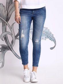 Kalhoty modrá 34