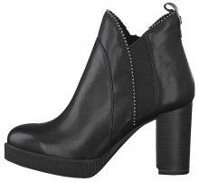 Tamaris Dámské kotníkové boty 1-1-25009-23-001 Black 36