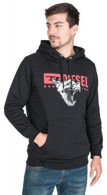 S-Gir-Hood-BX1 Mikina Diesel | Černá | Pánské | M