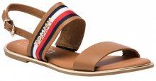 Tommy Hilfiger Dámské sandále Flat Sandal Corporate Ribbon FW0FW04049-929 38