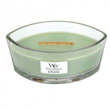 WoodWick Vonná svíčka loď White Willow Moss 453 g