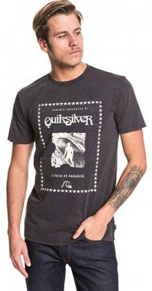 Quiksilver Pánské triko Locals Paradise Ss Black EQYZT05421-KVJ0 M