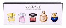 Versace Kolekce miniatur - EDT 3 x 5 ml + EDP 2 x 5 ml