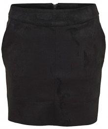 ONLY Dámská sukně ONLJULIE FAUXSUEDE BONDED SKIRT OTW NOOS  Black 34