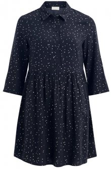 Vila Dámská šaty VIGIULIA 3/4 SHORT DRESS/1 Total Eclipse 34