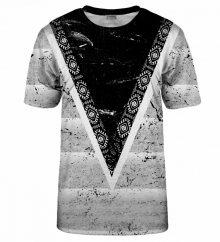 Triko Bittersweet Paris Aztec Pattern T-Shirt