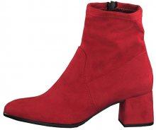 Tamaris Dámské kotníkové boty 1-1-25061-23-515 Lipstick 39