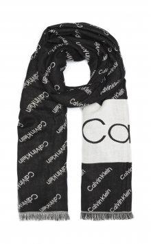 Šátek Calvin Klein | Černá Bílá | Dámské | UNI