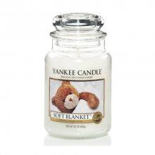Yankee Candle Aromatická svíčka Classic velký Soft Blanket 623 g