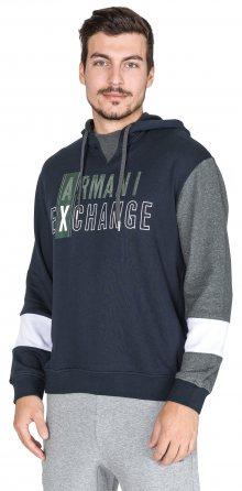 Mikina Armani Exchange | Modrá | Pánské | L