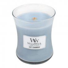 WoodWick Vonná svíčka váza Soft Chambray 275 g