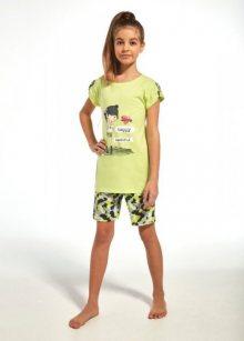 Cornette Young Girl 244/62 Dívčí pyžamo 134-140 seledinová